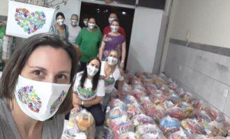 GARAGEM SOLIDÁRIA : Mais de cem lanches semanais  às crianças do Pântano e Mauá