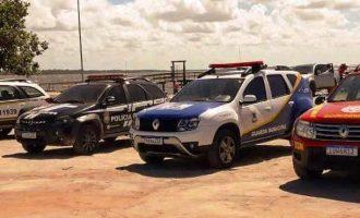 Forças de segurança fiscalizam  restrições do decreto estadual