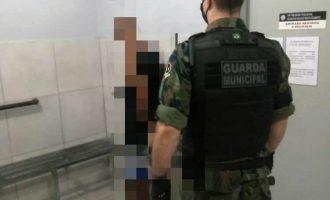 GUARDA MUNICIPAL :  Homem é preso por receptação