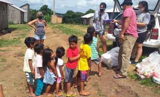 SEJA SOLIDÁRIO : Grupo prepara doações  para crianças indígenas