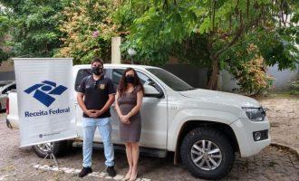 Receita Federal faz doação de veículo para a Polícia Civil de Pinheiro Machado