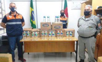 CRPO/SUL  : IFSul e Defesa Civil realizam doação
