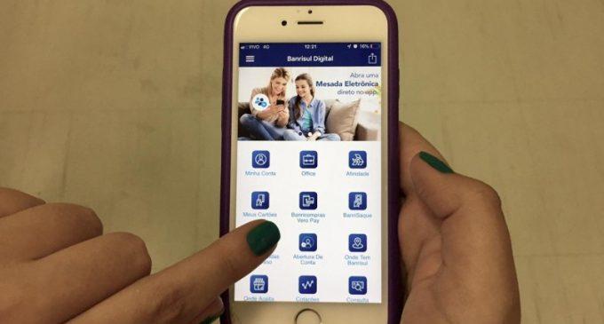 Banrisul oferece carência de até 120 dias no crédito consignado pelo app
