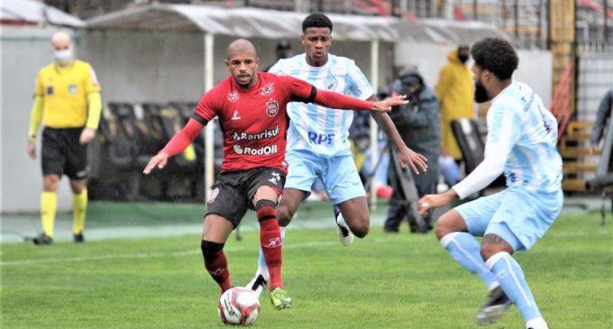 QUASE : Brasil fica no empate com Londrina pela primeira rodada