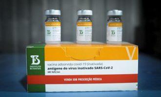 Butantan entrega mais 2 milhões de doses de vacina CoronaVac