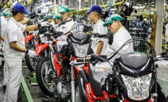 Vendas de motos têm alta e mostram recuperação do setor em abril