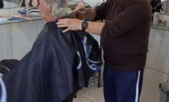 CAPÃO DO LEÃO  : A arte de cortar cabelos, há 57 anos