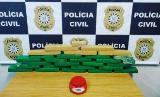 POLÍCIA CIVIL : Apreensão de 20kg de maconha