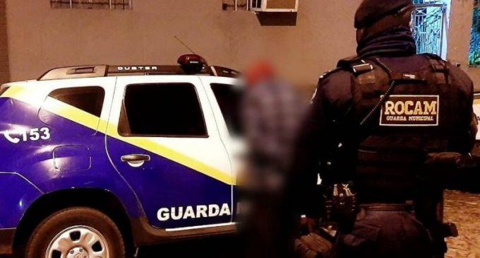 GUARDA MUNICIPAL : Homem é capturado após arrombar escola