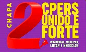 CPERS UNIDO E FORTE : Chapa 2 apresenta candidatos  na eleição para os conselhos