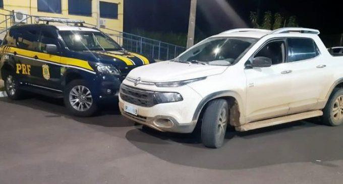 POLÍCIA RODOVIÁRIA  : Veículo furtado em Pelotas  é localizado na BR 101