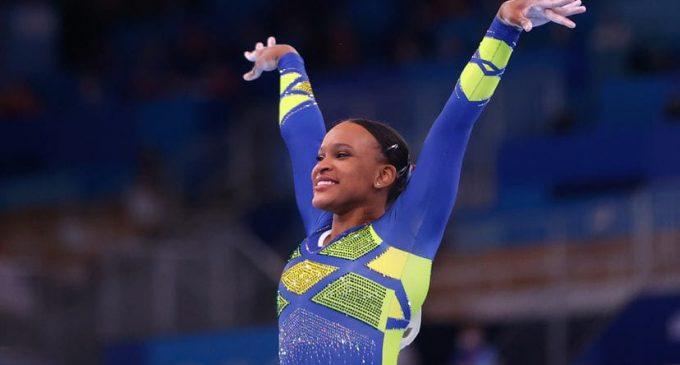 Rebeca Andrade conquista primeira medalha da ginastica feminina do Brasil em Olimpíada