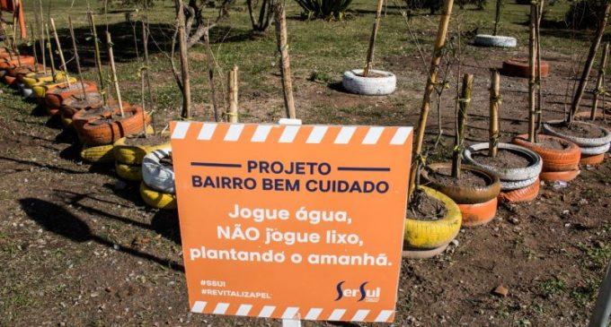 Projeto Floresta de Bairro é lançado no Getúlio Vargas
