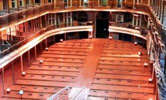 THEATRO SETE DE ABRIL  : Conclusão do restauro  com atrações no palco