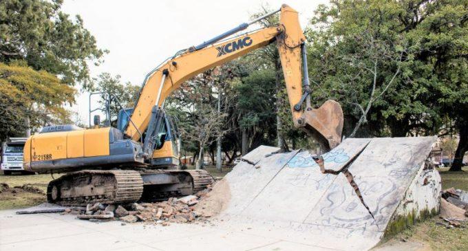 Começa a revitalização do Parque Dom Antônio Zattera