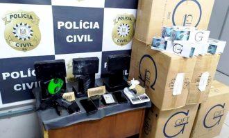 POLÍCIA CIVIL  : Trio é preso em flagrante