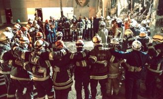 SECRETARIA DE SEGURANÇA : Consternação na despedida aos bombeiros