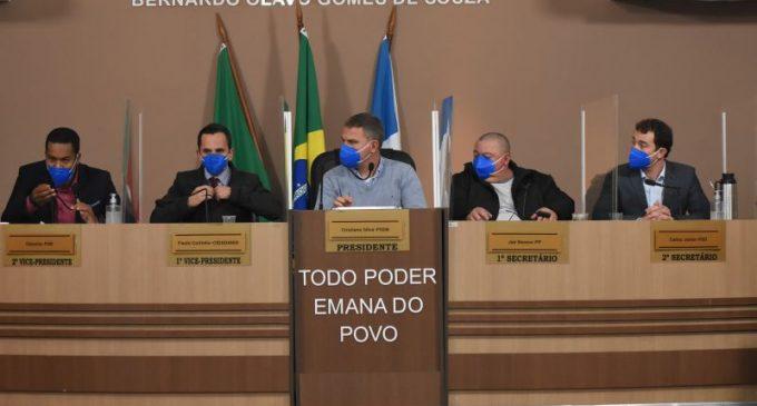 Câmara retoma sessões presenciais cercada de protocolos sanitários