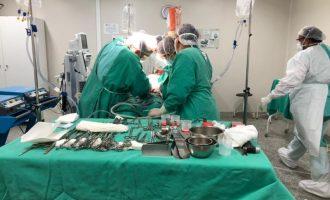 HUSFP realiza segunda captação de órgãos de 2021