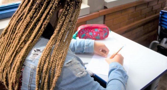 Provas com conteúdo de Língua Portuguesa e Matemática serão aplicadas em 500 escolas da rede estadual
