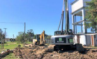Iniciada construção do novo reservatório no Balneário dos Prazeres