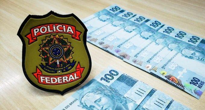 POLÍCIA FEDERAL  : Combate a criminosos que  distribuem cédulas falsas no RS