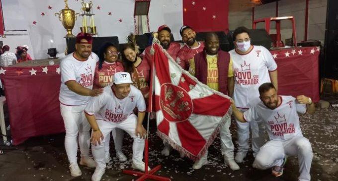 Samba de Pelotas se torna campeão e será o hino da escola Imperadores do Samba no carnaval 2022